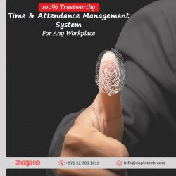 Time And Attendance Software Dubai | Zapio Technology