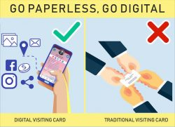 Creative Digital Visiting Card Design for You