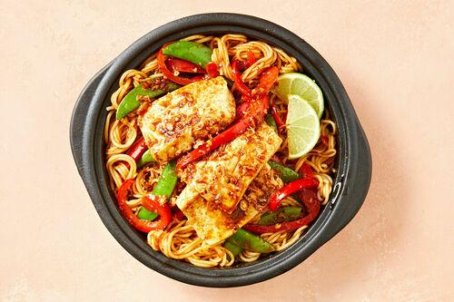 Balinese tofu noodles