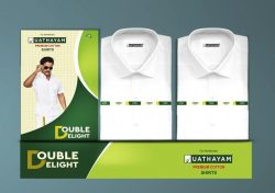 Double Delight White Shirts