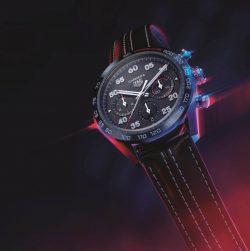 """タグ・ホイヤー&ポルシェの腕時計、ポルシェの""""スポーツカー""""デザインを取り入れたクロノグラフ"""