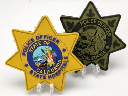 Custom Police Officer State Hospitals Uniform Patch