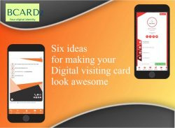 Six ideas for making your Digital visiting card look awesome!!