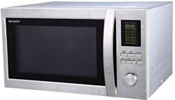 SHARP R-78BT(ST) 43-LITER MICROWAVE OVEN WITH GRILL FOR 220-240 VOLTS