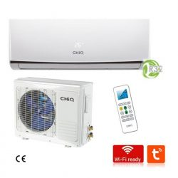 CHIQ CQASQE24H4W 24,000 BTU WIFI SPLIT-AIR CONDITIONER 220 VOLTS 50-60 HZ
