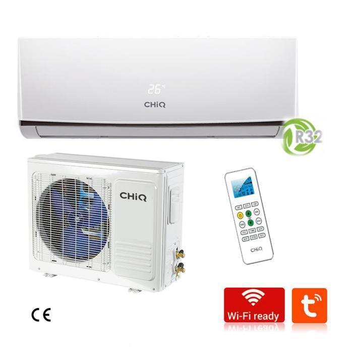 CHIQ CQASQE24H4W 24,000 BTU WIFI SPLIT-AIR CONDITIONER 220 VOLTS 50-60 HZ