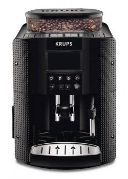 KRUPS FULLY AUTOMATIC COFFEE MACHINE EA815070 (1450 WATT, 1.8 LITRES, 15 BAR, LC DISPLAY, CAPPUC ...