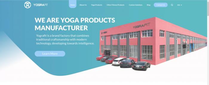 China's best yoga mat manufacturer