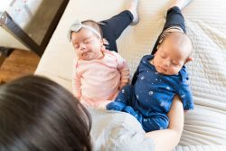 Telling Identical Twin Babies Apart