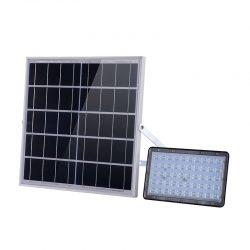 Private mode motion sensor solar led flood light 10W 15W 20W