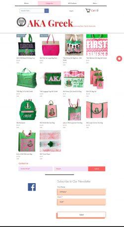 Aka gift bags