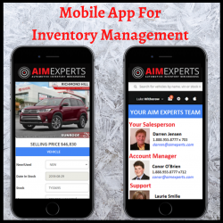 The Best Mobile App for Inventory Management | Aim Experts