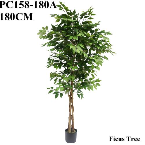 Artificial Greenery Ficus Tree