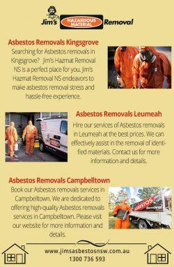 Asbestos Removals Kingsgrove