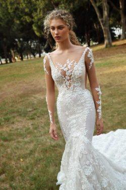 Schicke Brautkleider Mit Ärmel | Hochzeitskleider Meerjungfrau Spitze