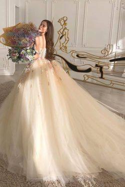 Prinzessin Brautkleider Tull | Hochzeitskleider Günstig Kaufen