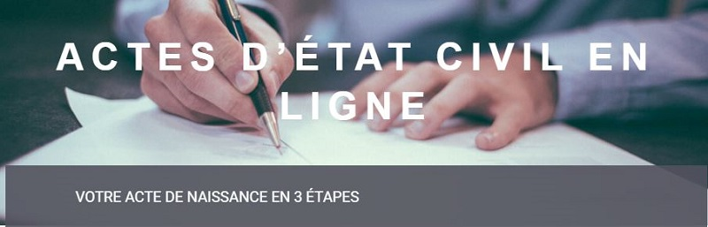 Acte De Naissance En Ligne | Actes-Etatcivil-Officiel