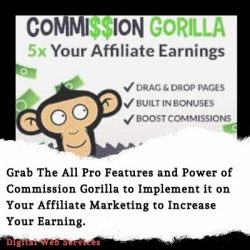 Commission Gorilla Review – Increase Your Affiliate Marketing Earning with 5X Speed