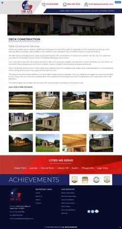 Deck builder round rock tx