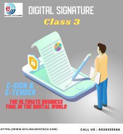 DSC signature certificate India