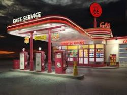 Petrol Station For Sale With Property
