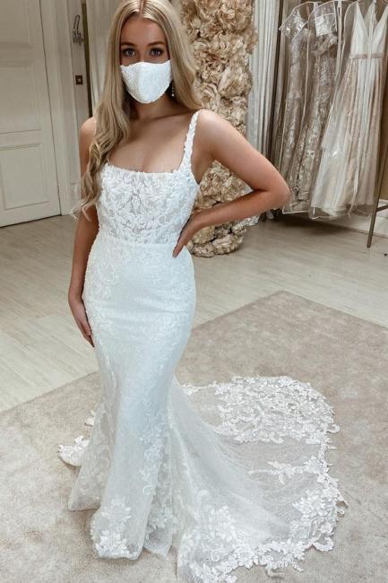 Designer Brautkleid Meerjungfrau Spitze   Hochzeitskleider Günstig
