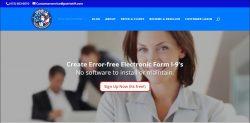 Electronic form i-9 compliance