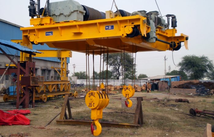 Get Here High Quality EOT Cranes At Best Price