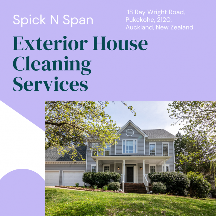 Exterior House Washing Company in Auckland