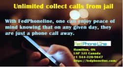 FedPhoneLine – Unlimited collect calls from jail – Connect Through Collect Call Number