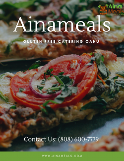 Ainameals – Gluten Free Catering Oahu