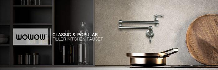 Get Your Ideal Pot Filler Faucet: WOWOW FAUCET
