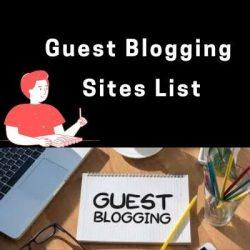 Guest post website list for your blogging