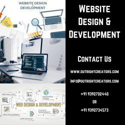 Get The High Quality Website Design and Development Services – Outright Creators