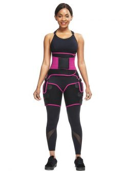 High Waist Neoprene Waist Trimmer | Thigh Sculptor | FeelinGirl