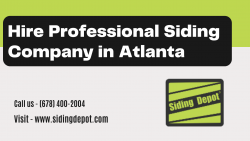 Hire Professional Siding Company in Atlanta