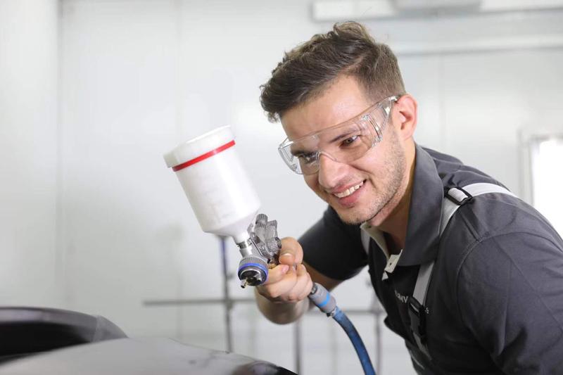 Hospital Anti Impact Clear Goggles
