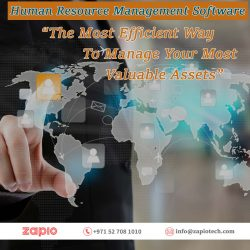 Human Resource Management Software Dubai | Zapio Technology
