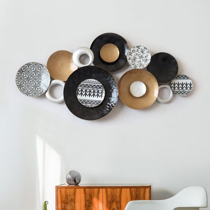 Metal Wall Art Online India And Wall Plates Decor