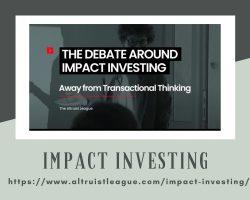 Impact Investing Services – Altruist League
