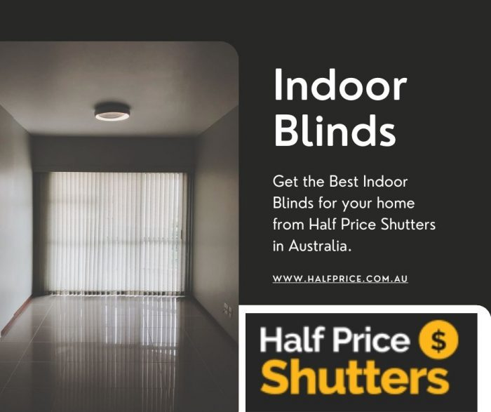 Best Indoor Blinds in Australia