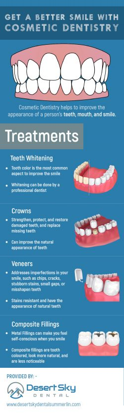 Get the Healthy and Beautiful Smile with Cosmetic Dentistry in Summerlin Las Vegas, NV