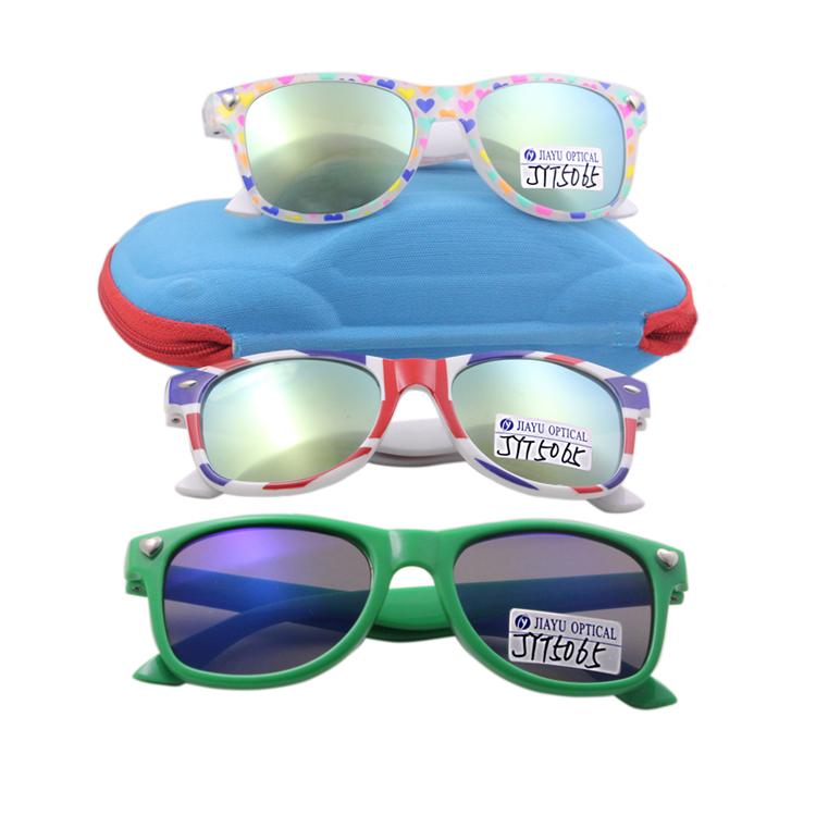 Kids Unbreakable Mirror Square Sunglasses