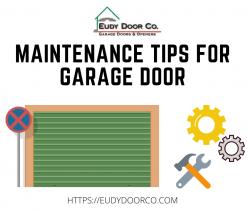 Maintenance Tips For Garage Door
