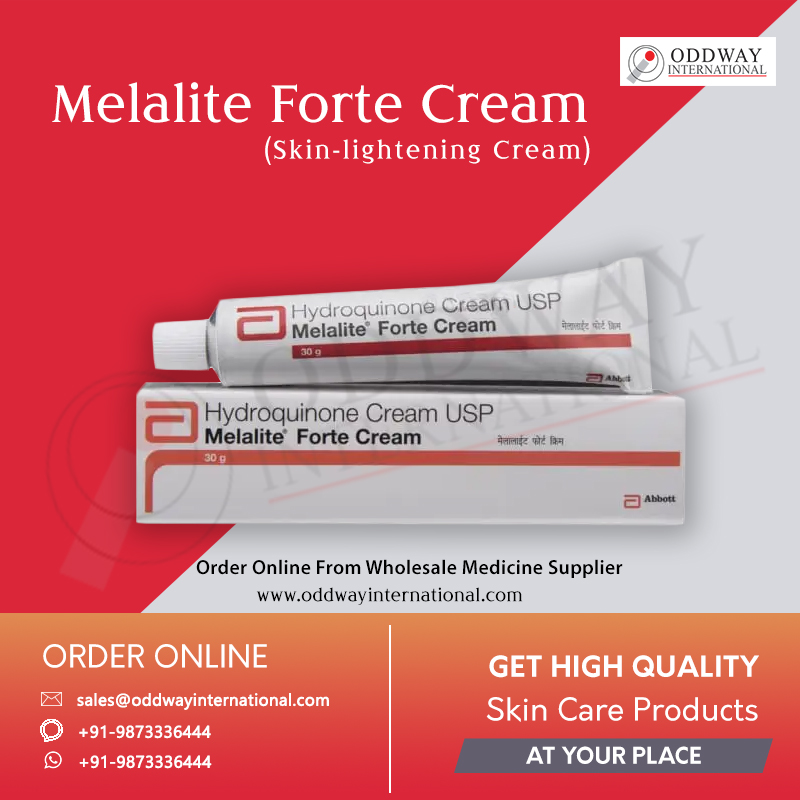 Melalite Forte Cream Online In Bulk At Lowest Price