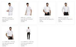 Men's Linen White Shirts   Ramraj Cotton