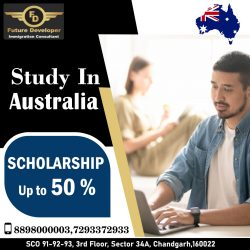 Study In Australia With Scholarship up to 50%
