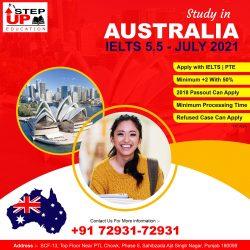 AUSTRALIA Student Visa with IELTS 5.5 Band 2018 Passout