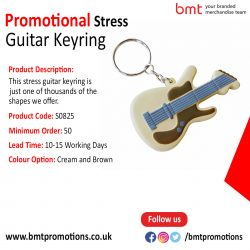 Promotional Stress Guitar Keyring