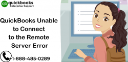 QuickBooks Unable to Connect to the Remote Server: Follow Troubleshoot Steps
